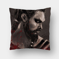 Khal Drogo Game Of Thrones Cushion Cover | Artist: Parikshit Deshmukh