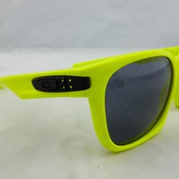 Oakley GARAGE ROCK Sunglasses MPH Yellow - Grey Lens 09175-36