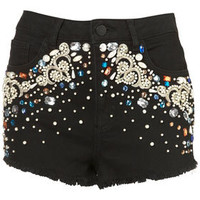 Beaded Hotpants