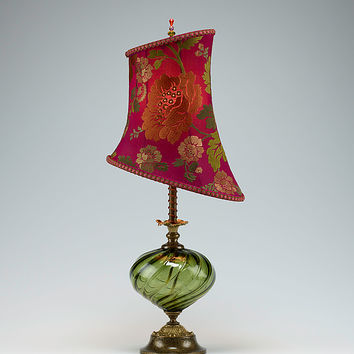 Beth by Susan Kinzig and Caryn Kinzig (Mixed-Media Table Lamp) | Artful Home