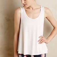 Five-Bar Tank by Onzie Ivory One Size Tops