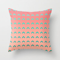 Going Up Throw Pillow by Lisa Argyropoulos