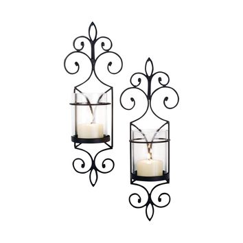 Pentaro Set of 2 Wall Sconces