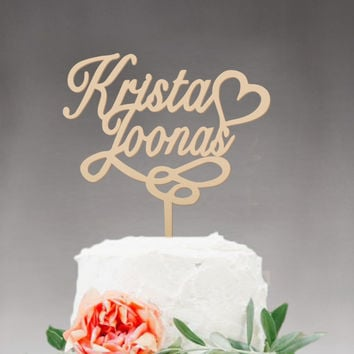 Personalized Wedding Cake Topper Mr and Mrs cake topper Rustic Wooden cake topper Name Wedding Party Decoration