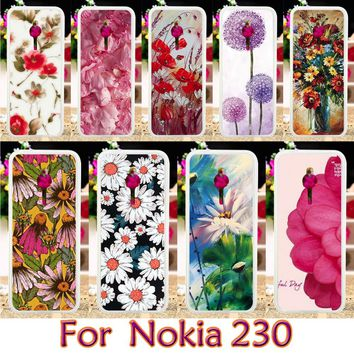 AKABEILA TPU Plastic Case For Nokia 230 Lumia 430 N430 Case Smartphone Shell Cover Housing Mobile Phone Skin