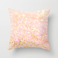 Sweetly Enchanted Throw Pillow by Lisa Argyropoulos