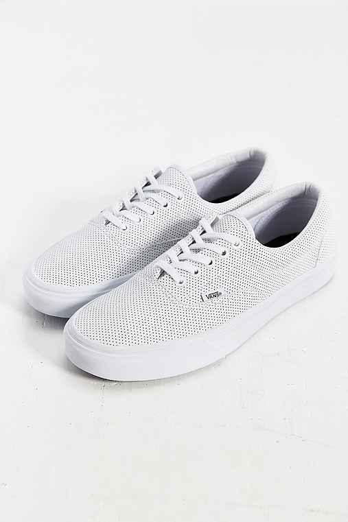 d223b376f3afe3 Vans Era Perforated Leather Sneaker from Urban Outfitters