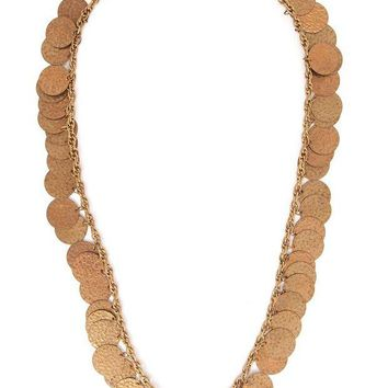 ONETOW Yves Saint Laurent Vintage gipsy sautoir necklace