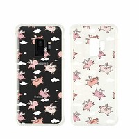 Cute Pig Pattern Transparent Silicon Plastic Phone Case For Samsung Galaxy S8 Samsung Galaxy Covers Emerishop (Samsung S8)