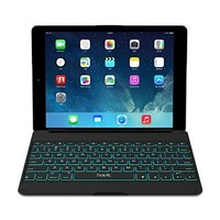 HAVIT HV-KB215BT Ultra-slim US LAYOUT Bluetooth 3.0 Wireless Keyboard for iPad Air, 7 Colour Backlit Keys (Black)