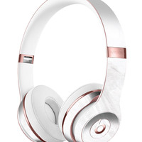 Mixtured Gray v10 Textured Marble Full-Body Skin Kit for the Beats by Dre Solo 3 Wireless Headphones