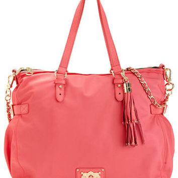 Juicy Couture Handbag, Lauryn Nylon Zip Tote - Tote Bags - Handbags & Accessories - Macy's