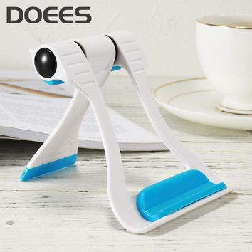 DOEES Universal Mobile Phone Holder For iPhone X 8 6 7 Tablet PC Folding Adjustable Desk Holder Bracket Mobile Phone Accessories