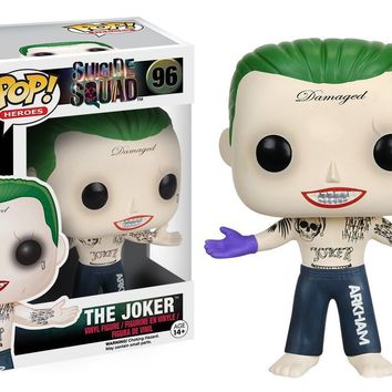 Funko Pop SUICIDE SQUAD Joker Shirtless