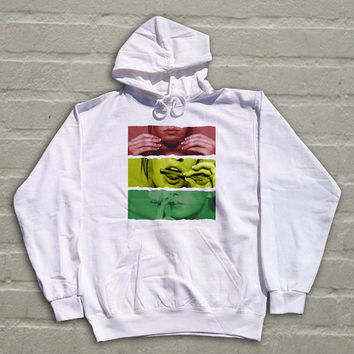 Rasta girl  valentine hoodie for men and women