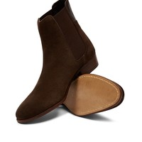 Hudson Watts Suede Boot Brown