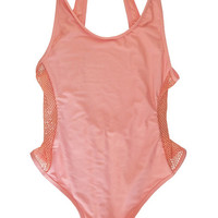 Kaohs Swim Koro One Piece in Peach