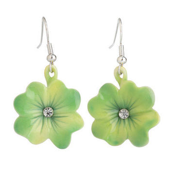 Franz Collection Shamrock Earrings