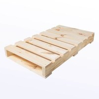 Houseworks, Ltd., Crates and Pallet - Half Pallet New Wood - 40in x 23in x 5in, 94711 at The Home Depot - Mobile