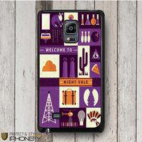 Welcome To Night Vale Collage Samsung Galaxy Note 5 Edge Case|iPhonefy