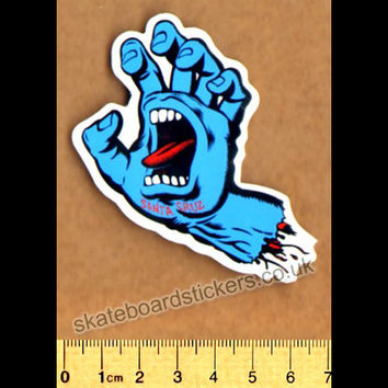 Santa Cruz Screaming Hand Skateboard Sticker