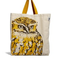 Talented Totes | Talented Totes Cherith Harrison Owl Canvas Tote Bag at ASOS