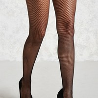 Sheer Fishnet Tights