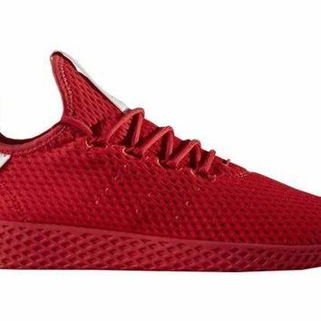 Pharrell X Adidas tennis Hu Scarlet Red