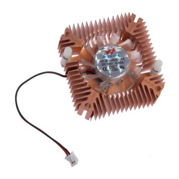 55mm Durable Metal Material Cooling Fan Heatsink Cooler For CPU VGA Video Card For PC Computer Free Shipping