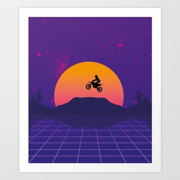 MX@Midnight Art Print by thePoliqueen