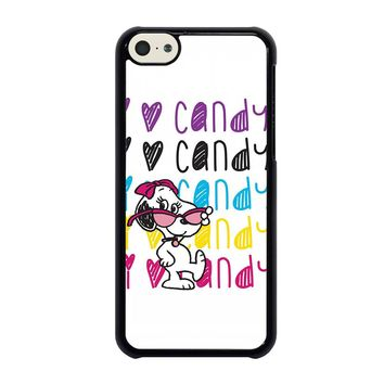 SNOOPY I LOVE CANDY iPhone 5C Case