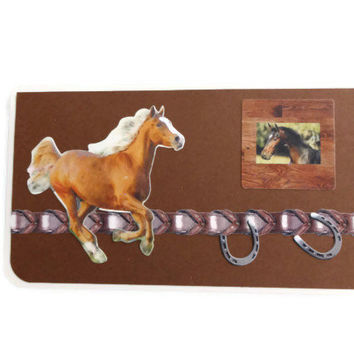 Horse Lovers Checkbook Cover Horses Checkbook Cover