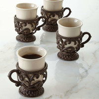 Four 8-oz. Mugs - GG Collection