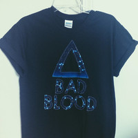 Bad Blood T shirt - Choose your color fabric!