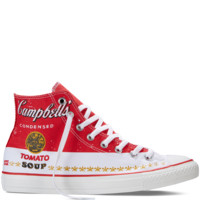 Converse Chuck Taylor All Star Andy Warhol Casino/White Hi Top
