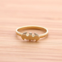 BATMAN ring(adjustable), in gold