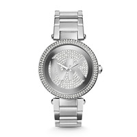 MICHAEL KORS WATCH  WOMEN JETSET PARKER STAINLESS STEEL MK5925