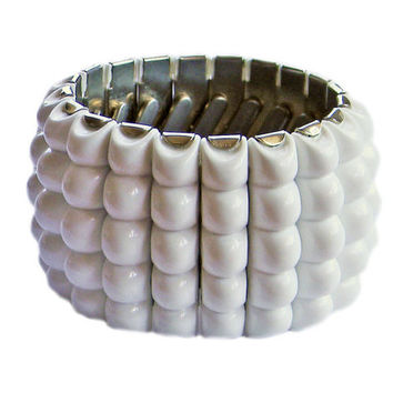 Vintage White Expansion Bracelet