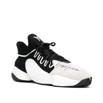 "Black & White ""BYW"" Sneakers by Y-3"