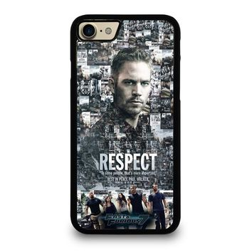 FAST FURIOUS 7 PAUL WALKER Case for iPhone iPod Samsung Galaxy