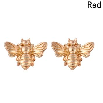 Honey Bee Earrings Tiny Fashion Stud Earrings