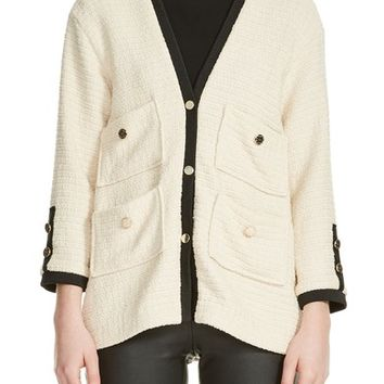 maje Tweed Jacket | Nordstrom