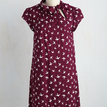 Up, Up, and Amaze Dress in Flock | Mod Retro Vintage Dresses | ModCloth.com
