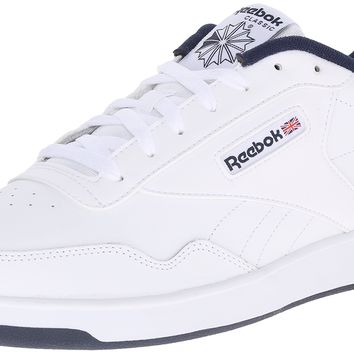 Reebok Men's Club Memt Classic Sneaker White/Collegiate Navy 9.5 D(M) US