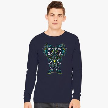 Elephants Long Sleeve T-shirt | Customon.com