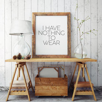 Quote Print Fashion Quote Teen Room Fashionista Typographic print Wall art Fashion print Gift women Makeup Print Fashion Poster Fashion