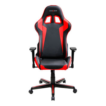 DXRACER FH00NR pyramat office computer gaming chair adjustable-Black and Red
