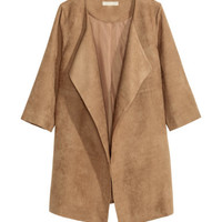 H&M Imitation Suede Coat $59.99