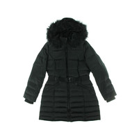 DKNY Womens Down Water Resistant Coat
