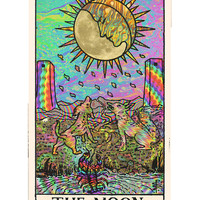 Psychadelic Tarot Card Sticker